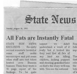 Actual Fake Newspaper Headline