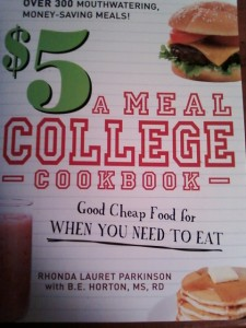 $5 a Meal College Cookbook on WannabeTVchef.com