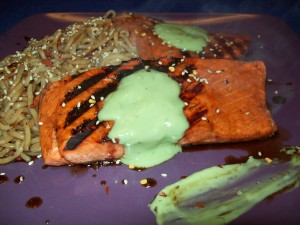 salmon on WannabeTVchef.com