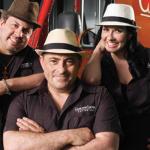 Gabriel Martinez, Maria Felipe and Frankie Tosta