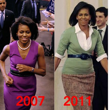 Michelle 2007 Michelle 2011