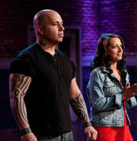Vic Moea and Susie Jeminez of Food Network Star