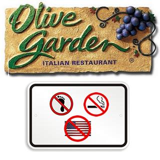Olive Garden Hates America