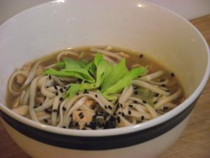 Udon Salmon Soup