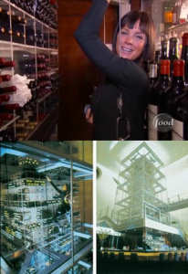 Lisa Garza Wine Tower