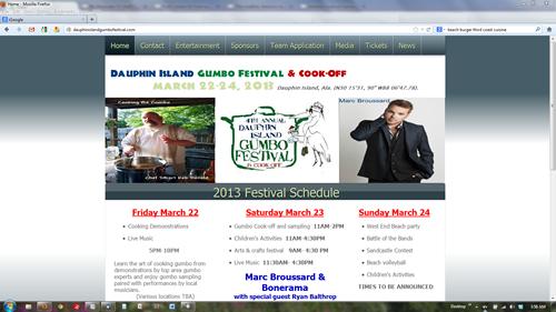 Dauphin Island Gumbo Festival